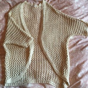 Garage Cream Cardigan
